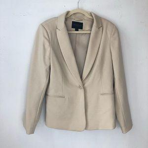 Kenneth Cole select Women blazer cream size Large
